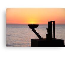 Sunrise - Bondi Beach, Australia Canvas Print