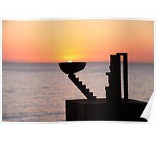 Sunrise - Bondi Beach, Australia Poster