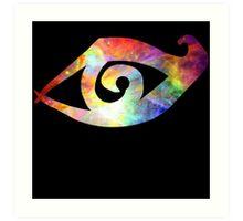 Rune of Clairvoyant Sight Art Print