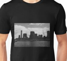 Black and White Brisbane Unisex T-Shirt
