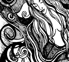 Abstracted Mermaid #2 – February 23, 2010  by Ivana Redwine