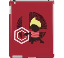 Lucas (Down Taunt) - Sunset Shores iPad Case/Skin