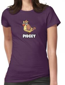 PIDGEY IS DISPLEASED WITH YOU  Womens Fitted T-Shirt