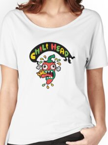 Chili Head    Women's Relaxed Fit T-Shirt