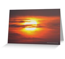 Sunrise | Bellport, New York Greeting Card