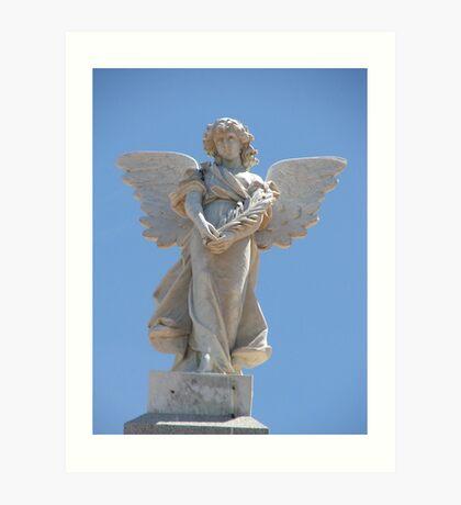 Memorial Angel Art Print