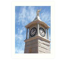 War Memorial Tower Art Print