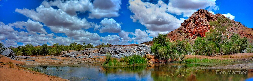 Marble Bar  Western Australia by Ben Mattner