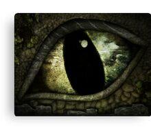 Dragon's Eye - Experiment - Stone Dragon Canvas Print