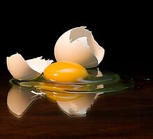Egg On Glass by Endre