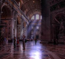St Peters Basilica Rome by Charlie Busuttil