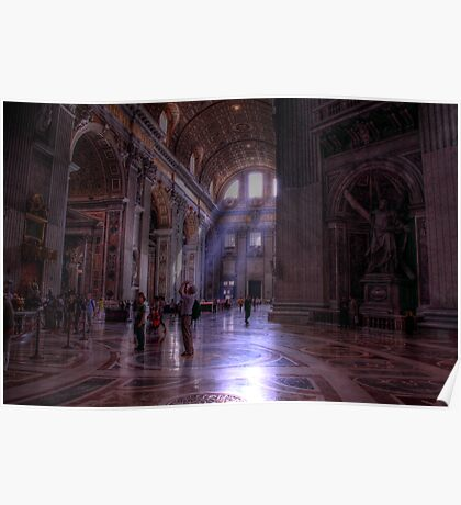 St Peters Basilica Rome Poster