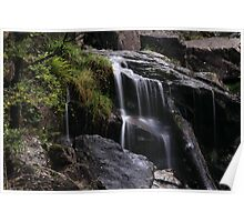 St Columba Falls Pyengana Tasmania Poster