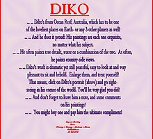 FEATURED ARTIST: DIKO by Dayonda