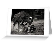 Noooo Bull Greeting Card