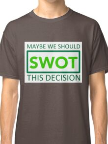 silicon valley swot green Classic T-Shirt