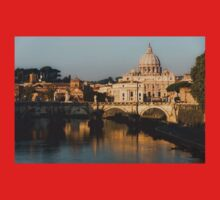 St Peter's Morning Glow - Impressions Of Rome Kids Clothes