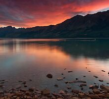 Glenorchy Sunset by Werner Padarin