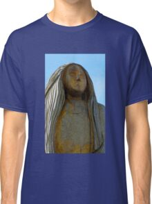 Statue at Peel Castle Classic T-Shirt