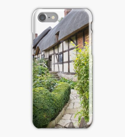 Thatched Cottage iPhone Case/Skin