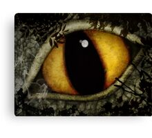 Woods Dragon Canvas Print