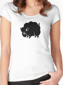 Black Sheep Women's Fitted Scoop T-Shirt