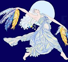 Blue Moon Dancer by redqueenself