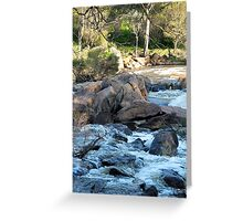 Avon River Greeting Card