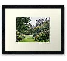 Holyrood Abbey and Gardens Framed Print