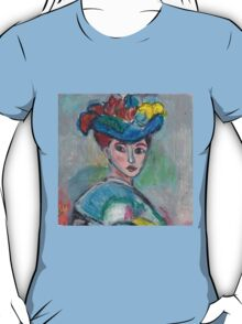 The Woman With The Hat(After Matisse) T-Shirt