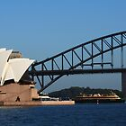 Sydney - Opera House and Bridge by lu138