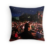 Melbourne - Federation Square Throw Pillow