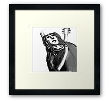 Buckethead ghost host   Framed Print