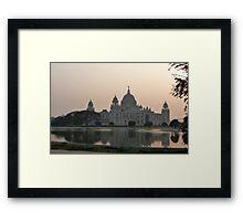 Victoria  Memorial, Calcutta, India Framed Print