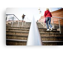 Stairway Perspective Liverpool Canvas Print