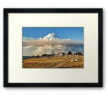 Craig's Hut, Mount Stirling Framed Print