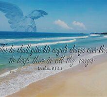 ANGEL BEACH PICTURE,PILLOW,TOTE BAG,TRAVEL MUG,CUPS,SCARF ,ECT... by ✿✿ Bonita ✿✿ ђєℓℓσ