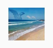 ANGEL BEACH PICTURE,PILLOW,TOTE BAG,TRAVEL MUG,CUPS,SCARF ,ECT... Unisex T-Shirt