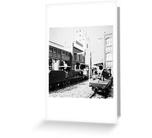 Special Freight Terminal and Headquarters, East end. 001 Greeting Card