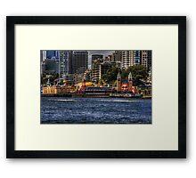 Icons of Sydney - Luna Park Framed Print