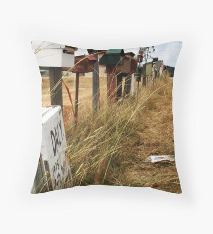 Mail. Throw Pillow
