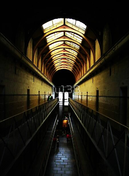 Old Melbourne Gaol by lu138