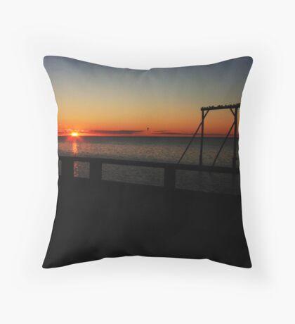 Heron Island Queensland Throw Pillow