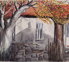 House And a Tree by Atanas Vasilev
