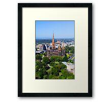 St Patrick's Cathedral, Melbourne Framed Print