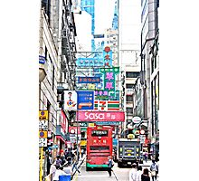 Central Hong Kong  Photographic Print