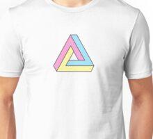 CMYK Penrose Triangle #2 Unisex T-Shirt