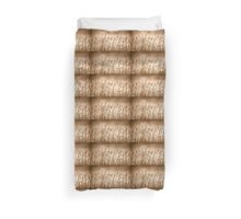 Golden Reeds at The Mother of Ducks Lagoon Duvet Cover