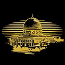 Dome of the Rock by Omar Dakhane