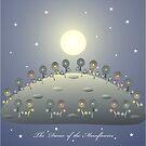 The Dance of the Moonflowers by Helena Wilsen - Saunders